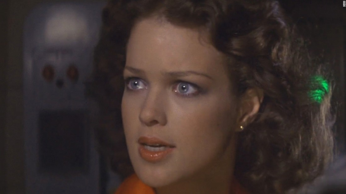 Melody Anderson portrayed Flash's love interest, Dale Arden.
