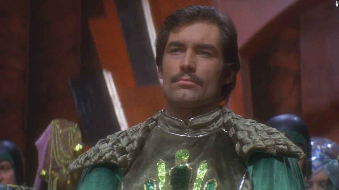 The noble Prince Barin was portrayed by Timothy Dalton.