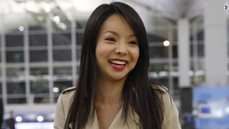 Miss world canada Anastasia Lin denied entry to China int holmes_00011412