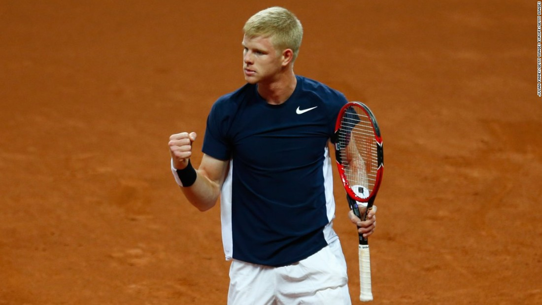 Edmund, 20 and ranked 100th, started brilliantly and took the first two sets 6-3 6-1 against the world No. 16.