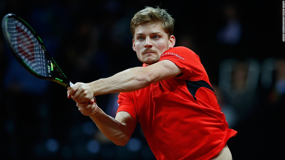 Goffin became the first man to come from two sets down in a Davis Cup final match to win since Spain's David Ferrer in 2009.