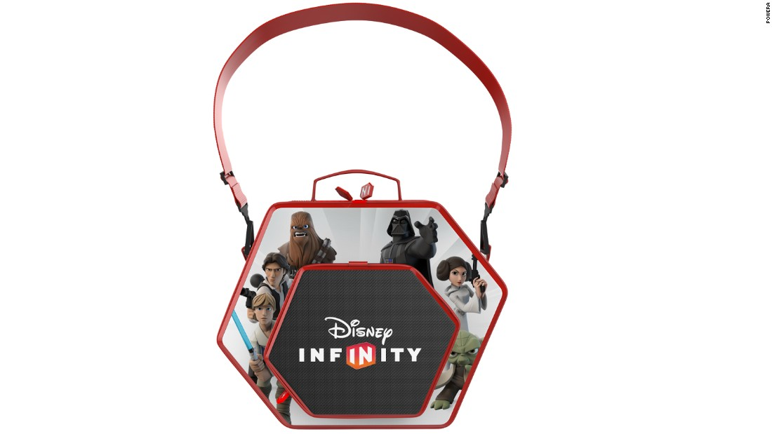 "With the new movie coming out, ""Star Wars""-related games and accessories are all the rage this holiday season. Keep your ""Disney Infinity"" figures organized in this stylish themed container, which also has room for your playing platform. List price: $29.99."