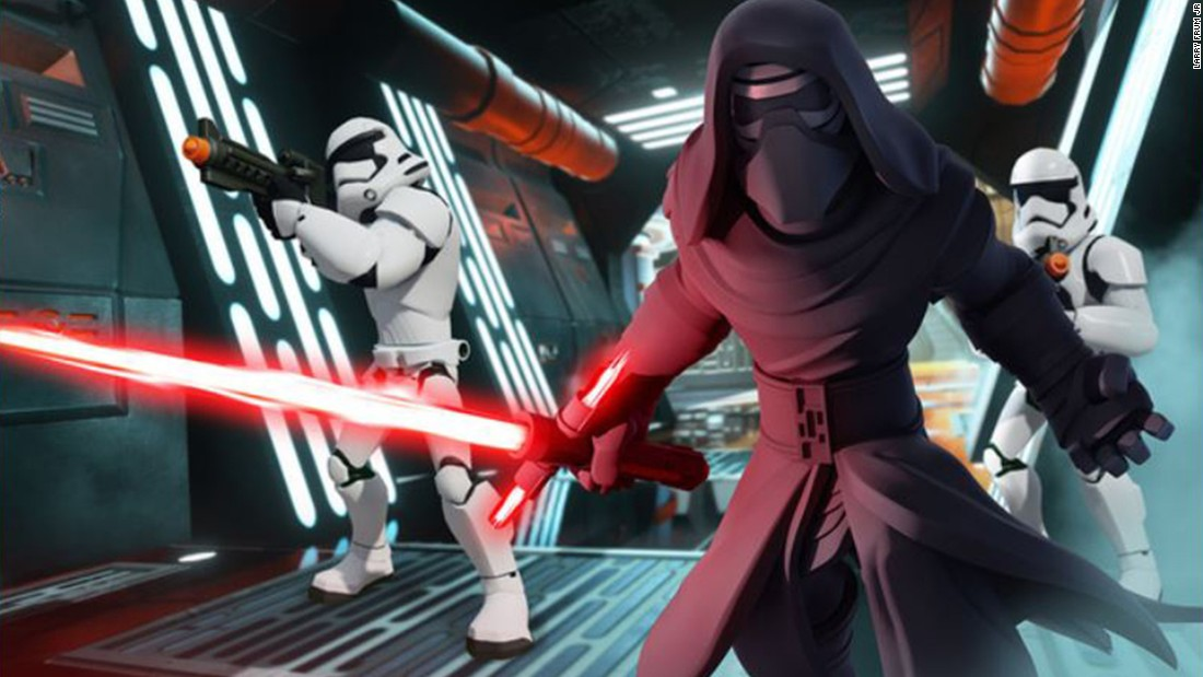 "The new ""Disney Infinity 3.0"" lets you play with old ""Star Wars"" characters along with new heroes and villains from ""Star Wars: The Force Awakens."" List price: $64.96."