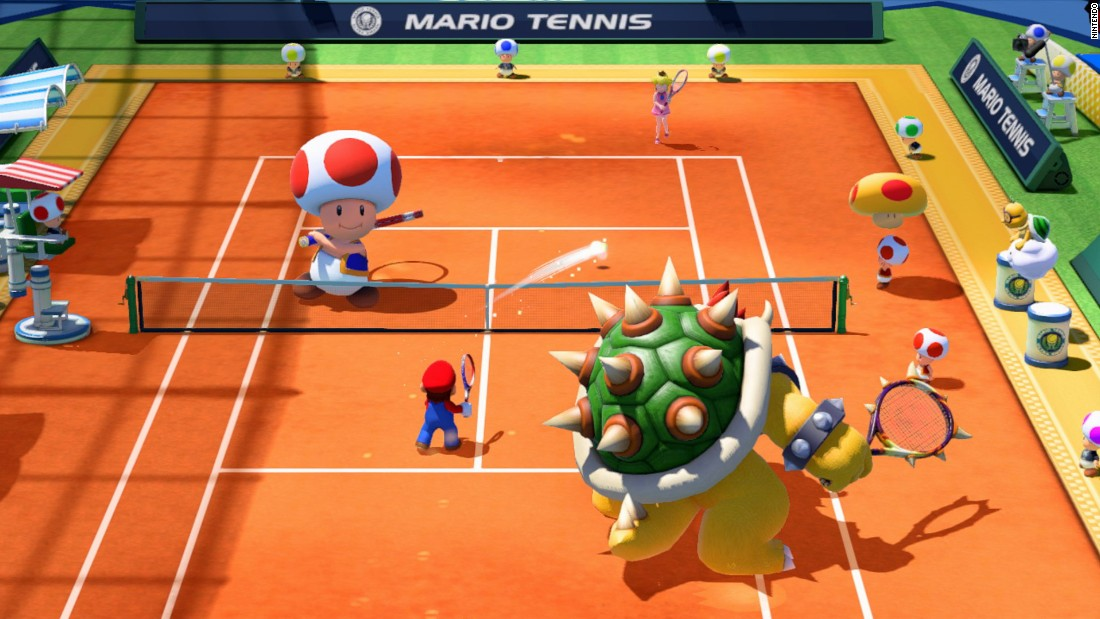 "A power slam has never been bigger than in the new ""Mario Tennis: Ultra Smash,"" which lets you choose from 16 playable characters for singles or doubles. List price: $49.99."