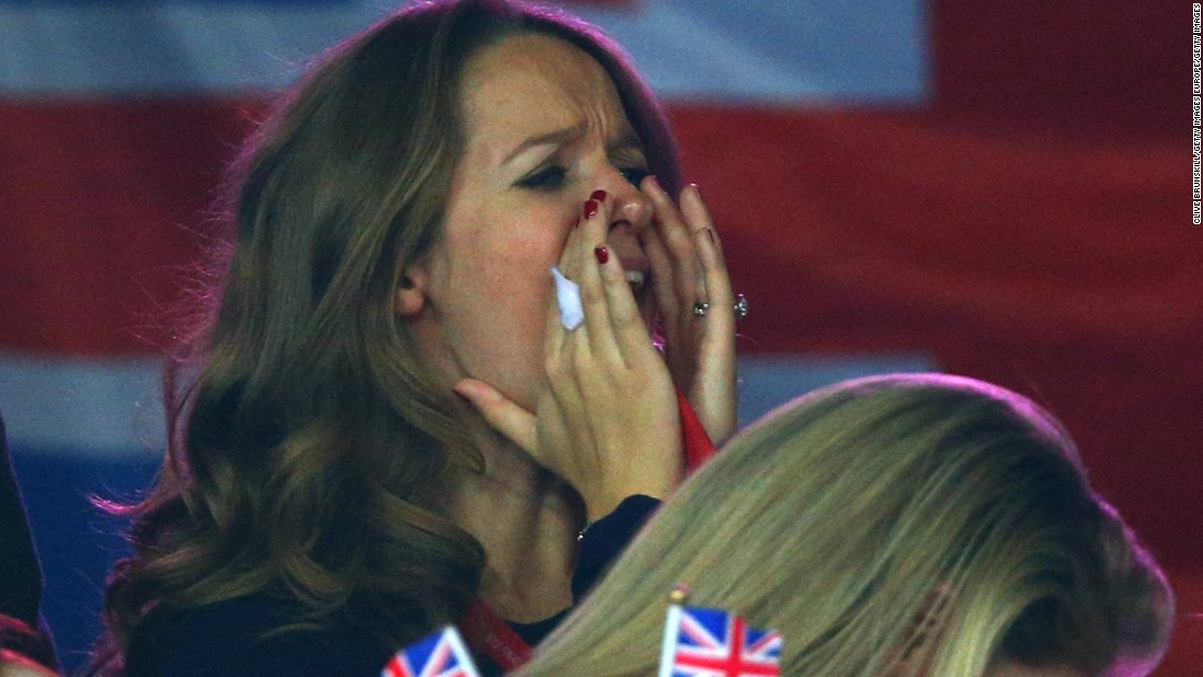 Murray's pregnant wife, Kim Sears, was one of those in attendance at the Flanders Expo.