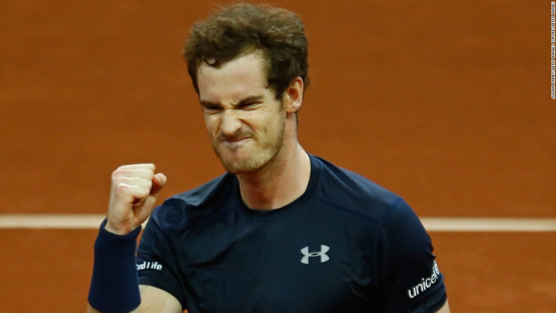 Andy Murray led Great Britain to its first title in 79 years in the Davis Cup after he beat Belgium's David Goffin in three sets in Ghent, 6-3 7-5 6-3.