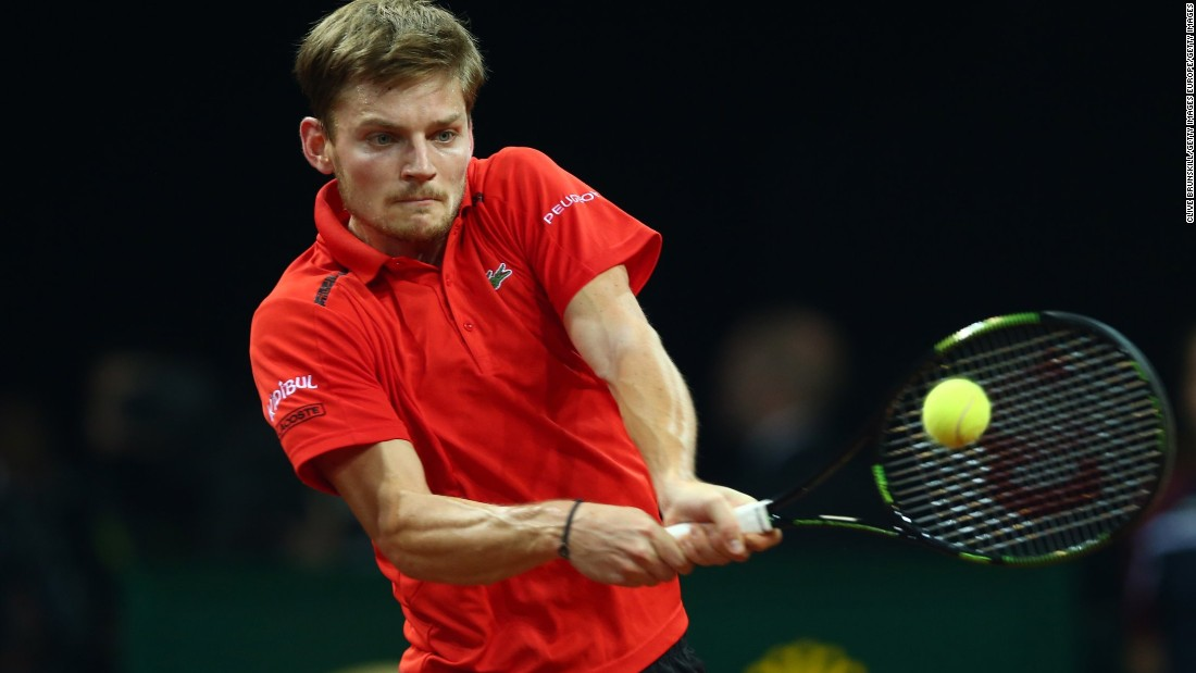 Goffin, Belgium's No. 1, slipped to 0-10 against the top-10 this year. Belgium's wait for a first title continues.