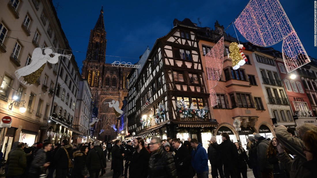 Strasbourg's series of themed Christmas villages morph the city into a visual and gastronomic wonderland.