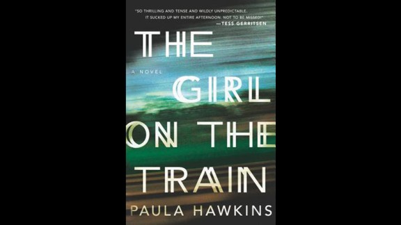 "The debut novel by Paula Hawkins, ""The Girl on the Train,"" won in the mystery/thriller category."