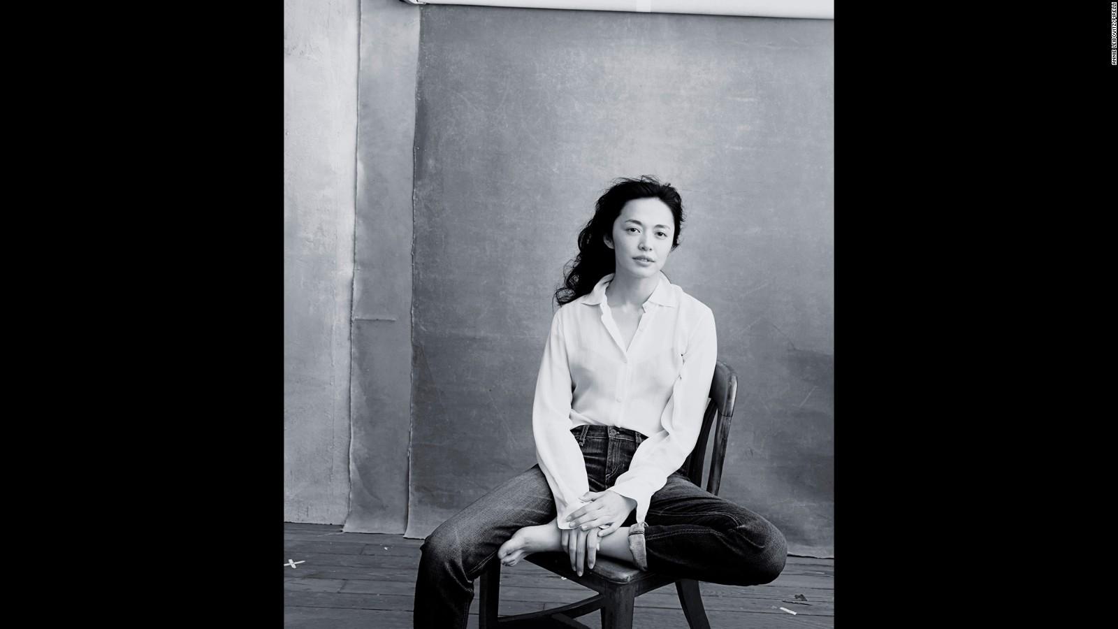 Annie leibovitz unveils portraits of amy schumer adele cnn style