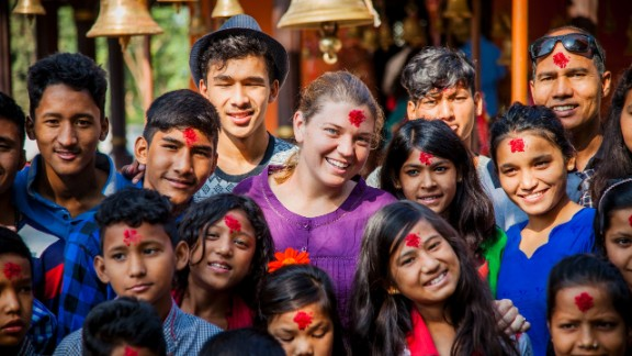 In 2006, New Jersey native Maggie Doyne purchased land in Surkhet, a district in western Nepal. She worked for two years with the local community to build the Kopila Valley Children