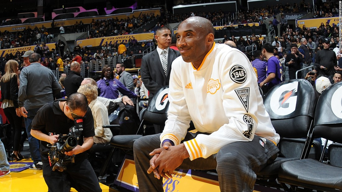"Kobe Bryant is introduced before the start of an NBA game in Los Angeles on Sunday, November 29. The 17-time All-Star has announced that <a href=""http://www.cnn.com/2015/11/30/sport/kobe-bryant-la-lakers-retirement/"" target=""_blank"">he will retire at the end of the season. </a>"