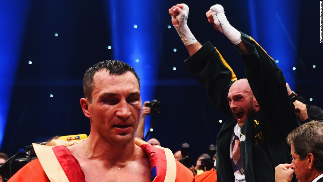 The undefeated fighter was added to the list after beating longstanding champion Wladimir Klitschko.