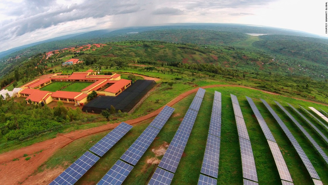 Currently only 18% of Rwanda's population has access to electricity, but the government has ambitions plans to connect 70% of households to the grid by 2017.