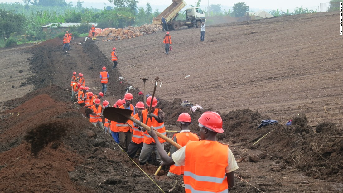 "During construction around 350 local workers employed. The plant is built on land owned by <a href=""http://asyv.org/"" target=""_blank"">Agahozo-Shalom Youth Village</a>, a residential community which cares for  children orphaned before and after the 1994 genocide. Gigawatt Global says it plans to train some of the students attending a school on its grounds in skills needed to work in the solar power industry."