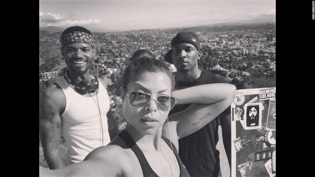 """Me and my work out squad!"" <a href=""https://www.instagram.com/p/-mrhxMOuJy/"" target=""_blank"">said actress Taraji P. Henson</a> on Friday, November 27. ""Had to work off my fatness from yesterday's FATAZZ feast."""