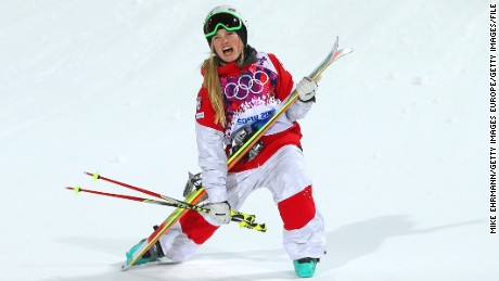 Freestyle ski star 'dances with slopes'