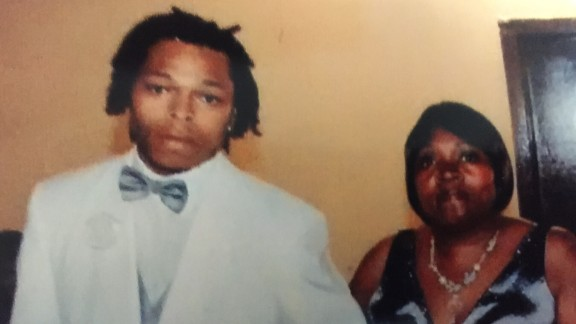 Ronald Johnson and his mother, Dorothy Holmes.