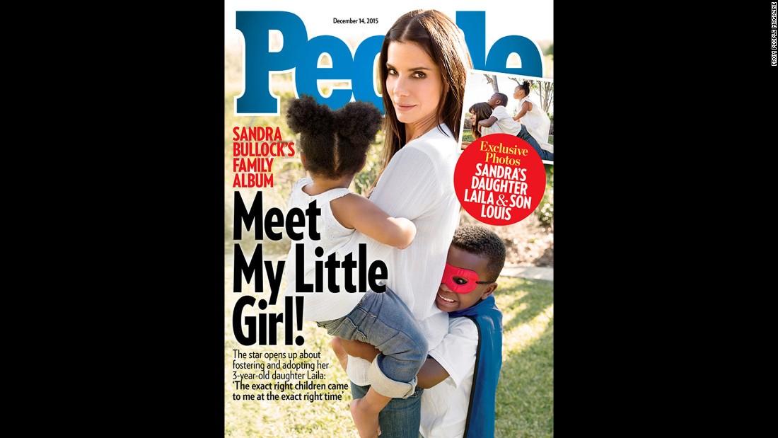 Sandra Bullock adopts daughter Laila - CNN