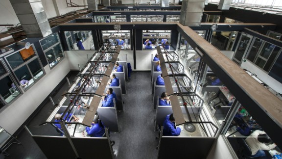 KGK Diamonds' factory in Gaborone, Botswana. The company opened its cutting and polishing operations in September 2015, while many in the industry are scaling back.