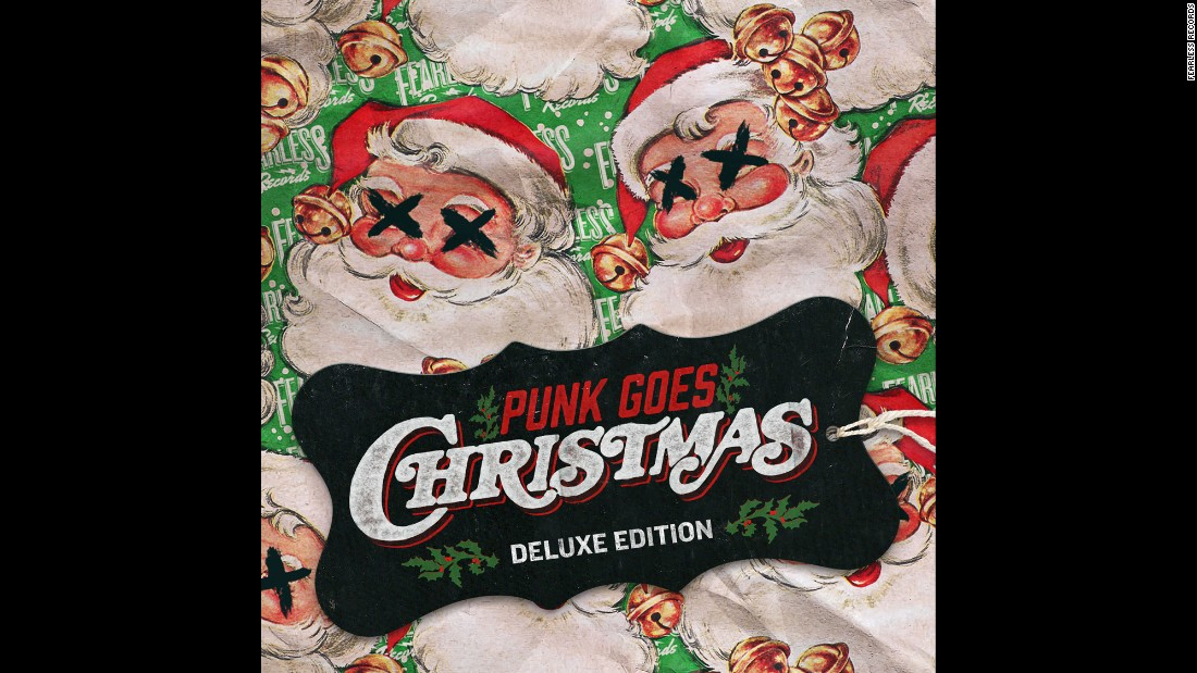 the latest edition in the punk goes series includes - This Christmas I Ll Burn It To The Ground