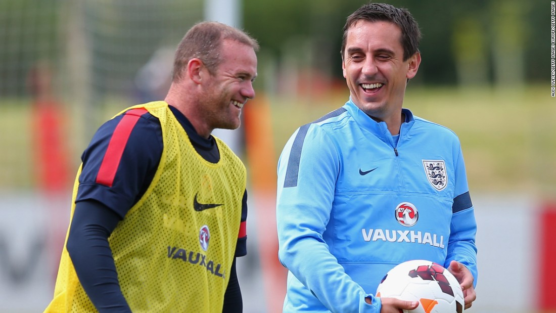 After retiring in 2011, Neville accepted a job as part of England coach Roy Hodgson's staff. He will combine his role as Valencia coach with his involvement with the national side, who are preparing for next year's European Championships.