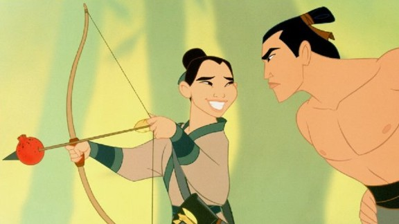 "Disney brings the legend to life in animated film, ""Mulan."""