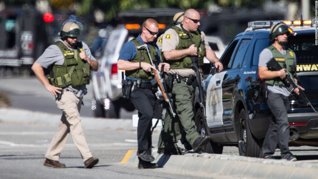 14 killed in San Bernardino shooting