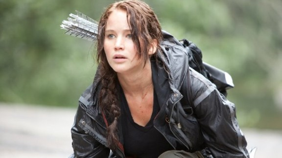 "Jennifer Lawrence shows off her archery skills in hugely popular adventures series, ""The Hunger Games."" ""The eternal struggle to find balance and harmony between men and women seems to lie at the heart of all Amazon tales,"" said Mayor ""It"