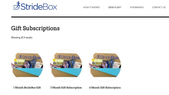 You can help that special someone stick to their New Year's resolution to stay fit by having a care package of healthy snacks and other motivating goodies shipped to them every month. Options and prices abound, but one popular subscription box service is StrideBox, geared to runners and other athletes. A three or six-month gift subscription costs $50 or $90. My Subscription Addiction has plenty of other ideas for those resolving to lose weight or eat healthy.
