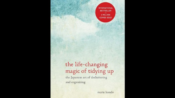 """If your giftee is really serious about their resolution to get organized, """"The Life-Changing Magic of Tidying Up,"""" the best-selling book by decluttering wiz Marie Kondo, will lead them through it. It prescribes strategies for clearing all the unnecessary items out of your home once and for all. At about $10 a book, that is gift money well spent!"""