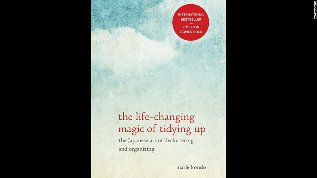 "If your giftee is really serious about their resolution to get organized, ""The Life-Changing Magic of Tidying Up,"" the best-selling book by <a href=""http://tidyingup.com/"" target=""_blank"">decluttering wiz Marie Kondo</a>, will lead them through it. It prescribes strategies for clearing all the unnecessary items out of your home once and for all. At about $10 a book, that is gift money well spent!"