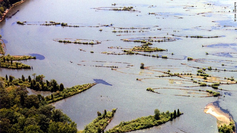 Mallows Bay is best known as the home of 100-plus steamships that were built during World War I