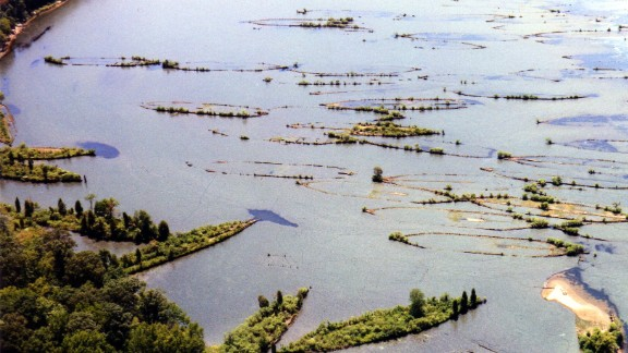 The ship graveyard in Mallows Bay, Maryland, is home to historic shipwrecks dating back to the American Civil War.