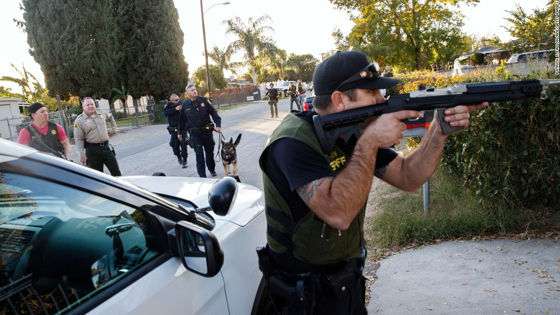 Timeline for San Bernardino mass shooting
