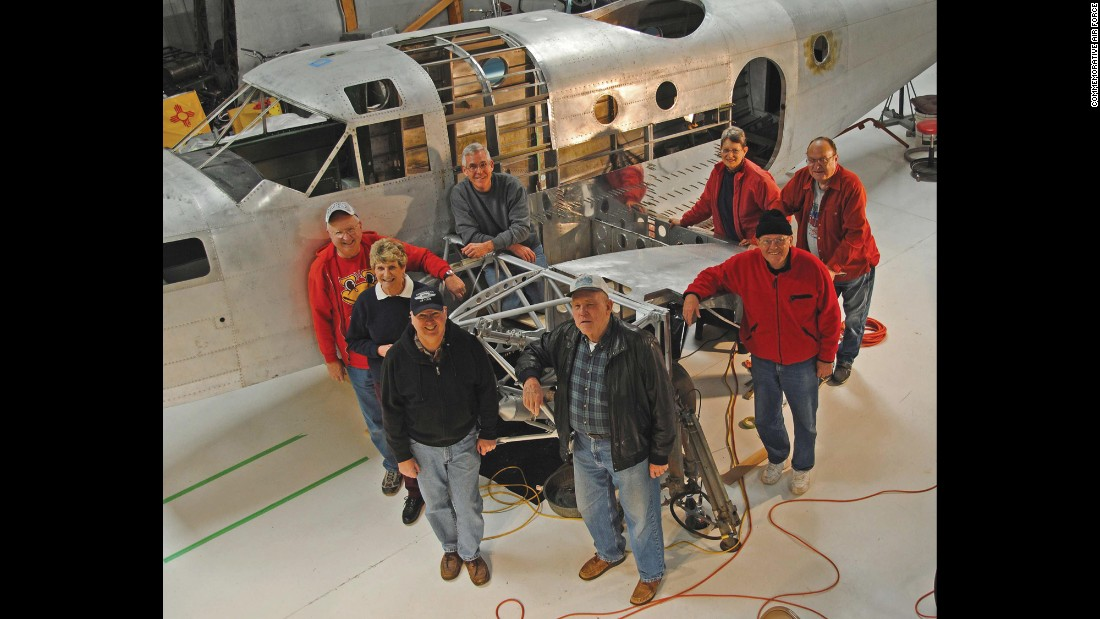 Restorers in Moriarty, New Mexico, hope to raise $50,000 to purchase a new engine for this Beechcraft AT-11 Kansan. It's the earliest known survivor of its type -- the 15th AT-11 out of 1,582 produced. Completion is set for fall 2018.