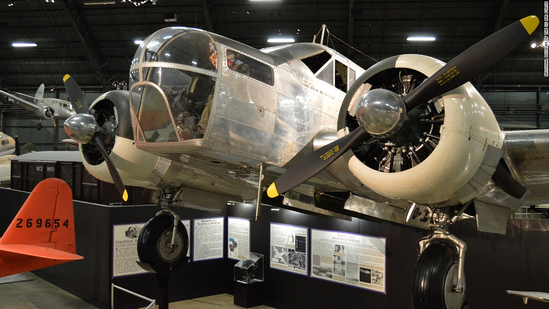 Another surviving AT-11 is on display at the National Museum of the U.S. Air Force. The Kansan was often used to train bombardiers.