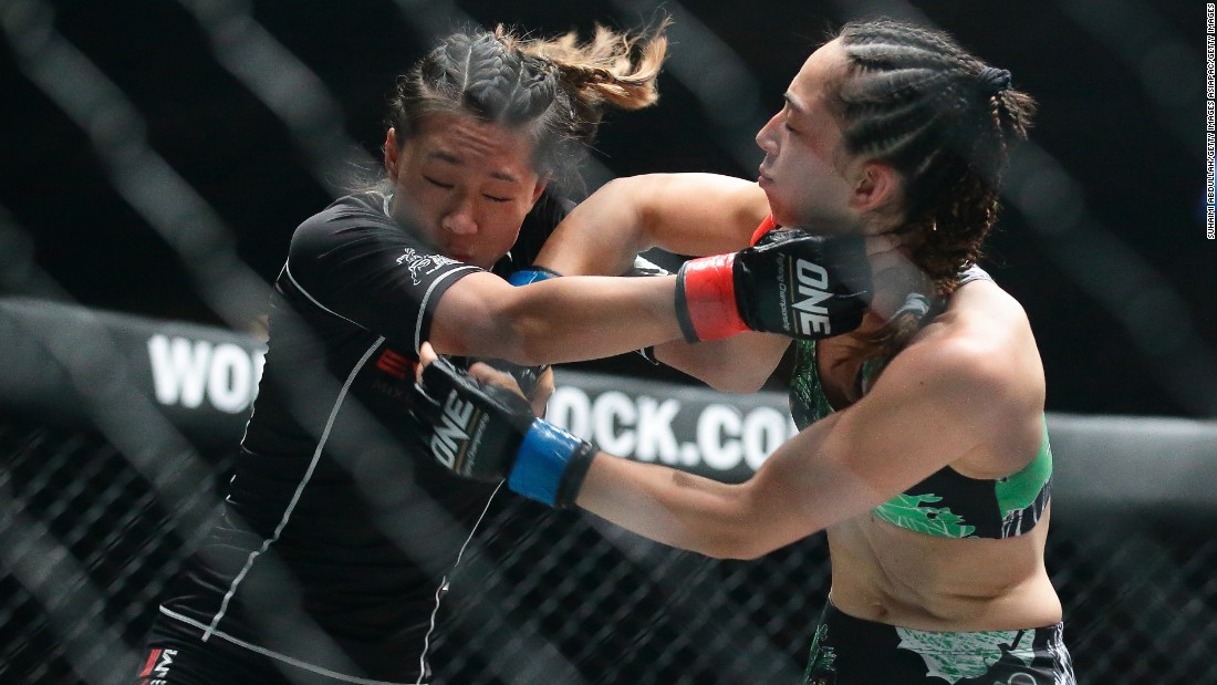 Lee says she wants more young girls to take up MMA in the future and is aiming to become a role model for future generations.
