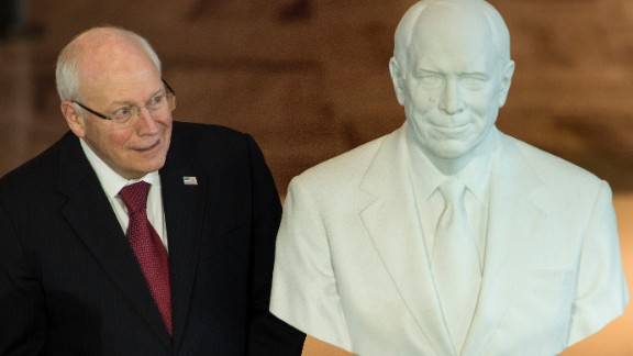 Former US Vice President Dick Cheney during a dedication ceremony at Emancipation Hall of the US Capitol Visitor Center on December 3, 2015, in Washington.