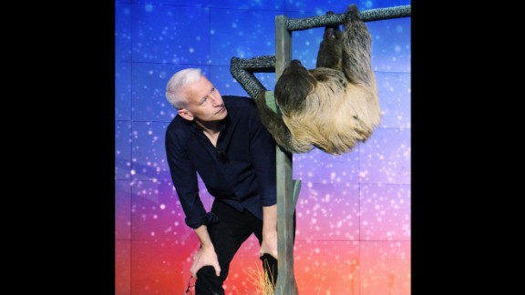 Anderson Cooper, host of 'CNN Heroes: An All-Star Tribute,' meets Snooki before the big show.