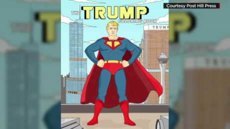 Donald Trump Gets His Own Coloring Book Cnn Video