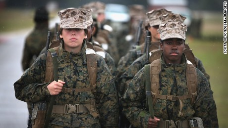 Women in military finally getting respect