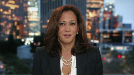 California Attorney General Kamala Harris