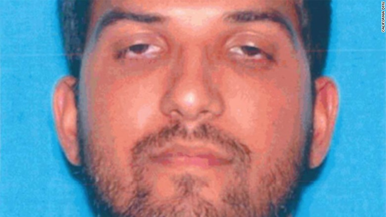 San Bernardino staff gave a baby shower for killer