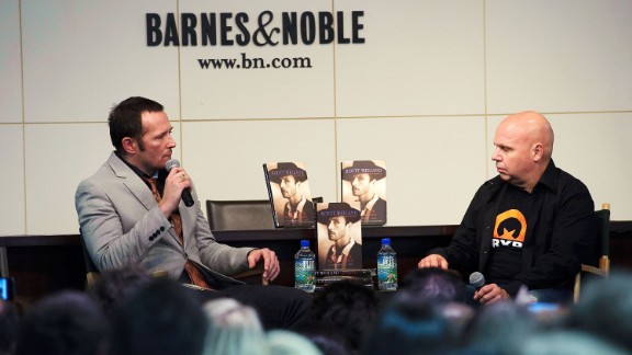 "Weiland's struggles with addiction were well-known, and he laid out his problems in a raw 2011 memoir, ""Not Dead & Not for Sale."" The book included stories of Weiland being raped as an adolescent and his experiences with heroin. He speaks with TV personality Matt Pinfield about the book in New York in May 2011."