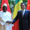 mali china handshake