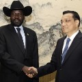south sudan china handshake