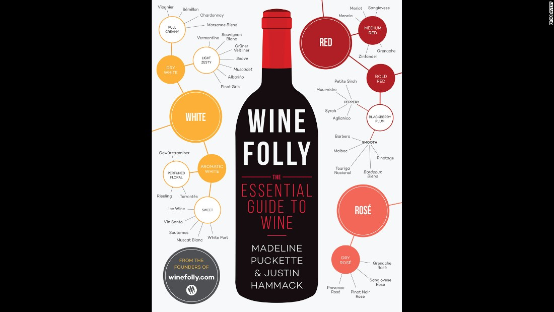 "Whether you know a lot about wine or don't know where to start, ""infographic style wine pairings make 'Wine Folly' an easy-to-use paperback guide for the most intimidated novice among us but also great fun for those who already have a more sophisticated understanding of the liquid grape in its many forms,"" Wilson said."