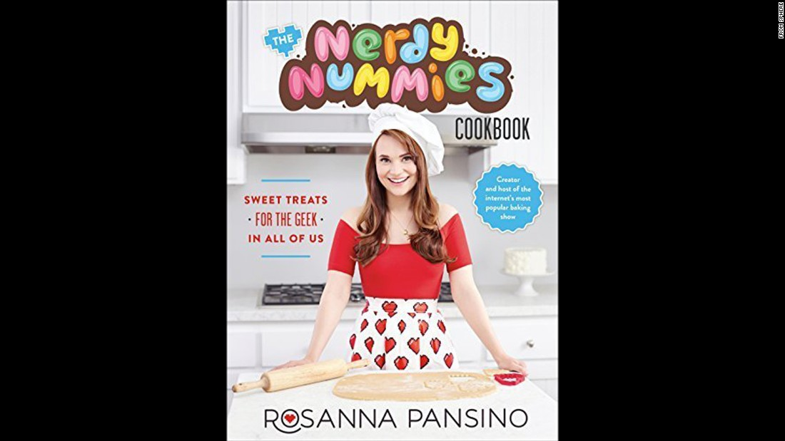 "Want to inspire the nerd in your life into the kitchen? Internet baking show star Rosanna Pansino's first book, ""Nerdy Nummies,"" may do the trick. Who doesn't want to try the Periodic Table of Cupcakes recipe? ""It has the same personality and fun as her wildly popular show of the same name,"" said Wilson. ""Who knew how cool making geode cupcakes could be?"""