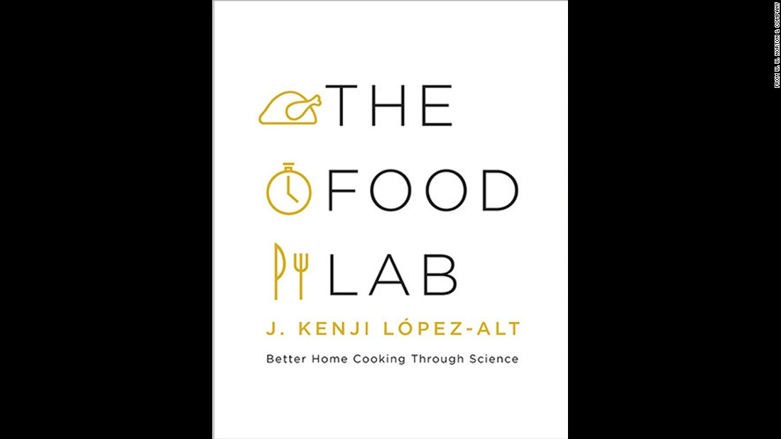 "If you have loved ones who are curious about the reasons behind a good recipe or technique, ""The Food Lab"" is for them. ""A substantial tome covering hundreds of American favorites, author J. Kenji López-Alt explains in easy-to-undertand language how some simple but new methods can achieve better results than conventional techniques,"" Wilson said."